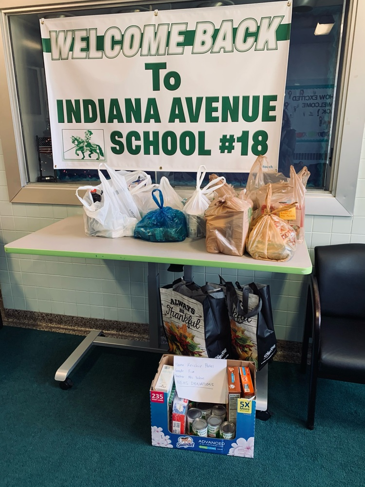 NEHS Food Drive going strong! You can still donate until Tuesday.