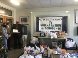 NEHS Food Drive- Thank you all!
