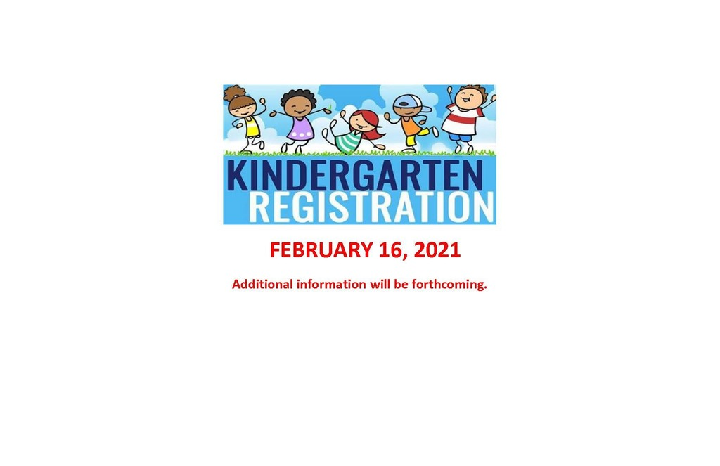2021-2022 Kindergarten Registration